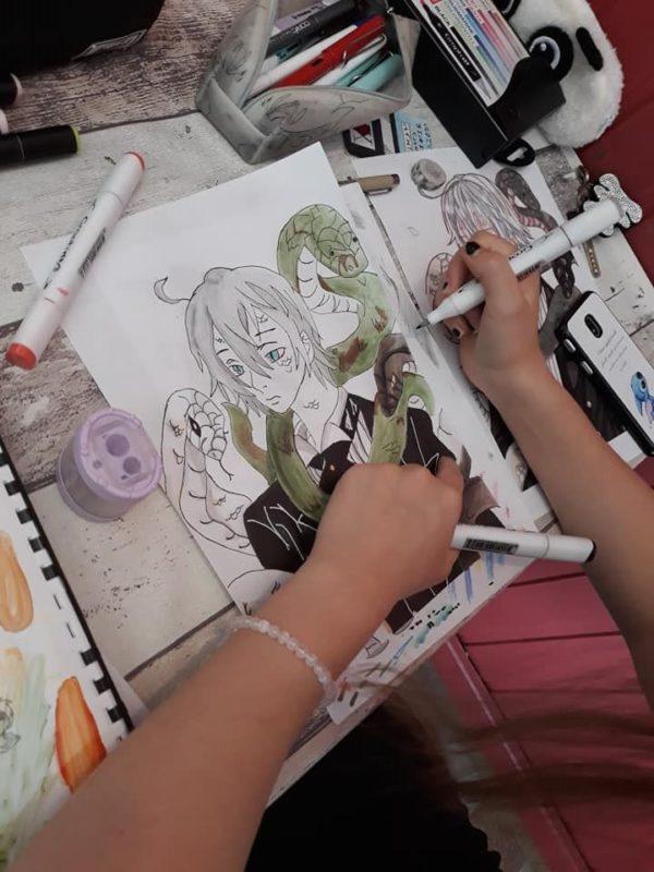 Stage de manga avec Céline Friand