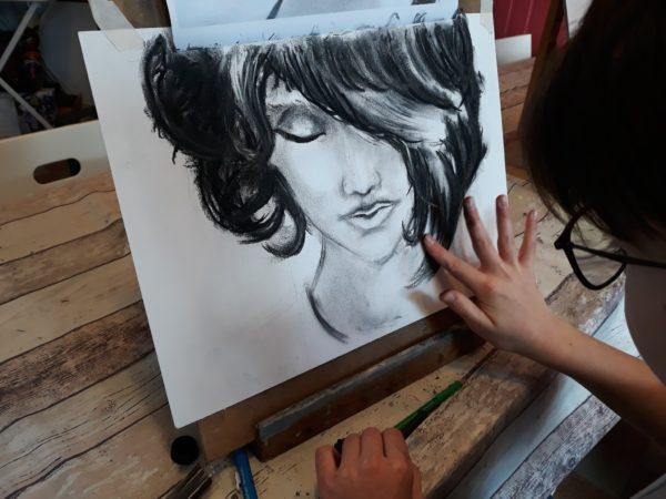 Cours de dessin avec Céline
